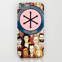 Greendale Human Beings iPhone 6 Slim Case