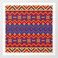 native Art Prints featuring Native by Arcturus