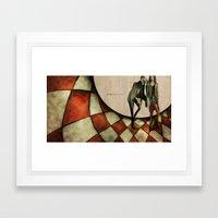 13th Floor with Diana Framed Art Print