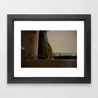 Alone Stand  Framed Art Print