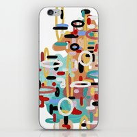 Mid Century One iPhone & iPod Skin