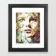 Mirada Persa Framed Art Print