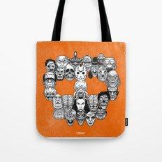 Monster Skull Tote Bag