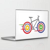 bike Laptop & iPad Skins featuring Bike! by Alice Wieckowska