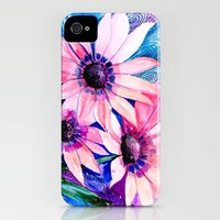 iPhone 4s & iPhone 4 Cases featuring Flowers by Slaveika Aladjova