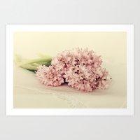 Hyacinths Art Print