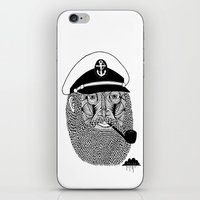 Captain Monkey Pants Of The Sea iPhone & iPod Skin