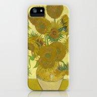 Sunflowers By Vincent Va… iPhone (5, 5s) Slim Case
