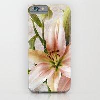 Textured Lilies iPhone 6 Slim Case