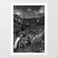 Wallowa Mountains, Northeast Oregon Art Print
