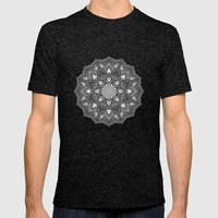 otherwise mandala Mens Fitted Tee Tri-Black SMALL