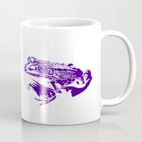 purple frog II Mug
