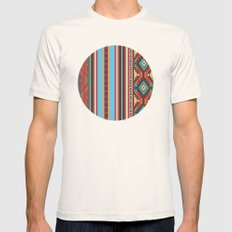 American Native Pattern … Mens Fitted Tee Natural SMALL