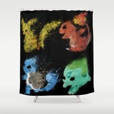 Starters v.2 Shower Curtain