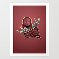 Bat'leths of Kronos Art Print