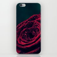 Dark velvet iPhone & iPod Skin