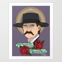 Wyatt Earp Art Print