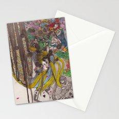 Alice in Wonderland - Strange Dreams / Original A4 Illustration / Ink & Watercolor Stationery Cards