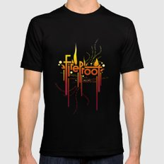 Fireproof Mens Fitted Tee Black SMALL