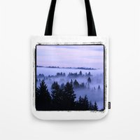 BremertonMorningFog Tote Bag