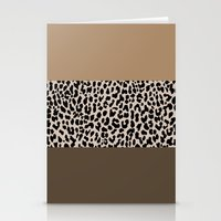 Leopard National Flag XVIII Stationery Cards