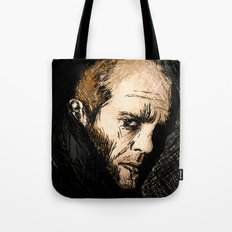 Jason Statham digital sketch Tote Bag