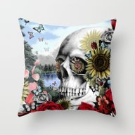 Throw Pillow featuring Reflection  by Kristy Patterson Des…
