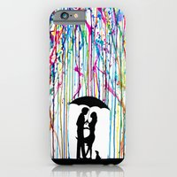 iPhone Cases featuring Two Step by Marc Allante