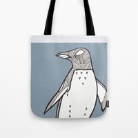lil penguin Tote Bag