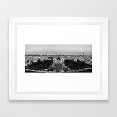 PARISIAN PANORAMA. Framed Art Print