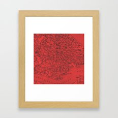 Venezia Rosso Framed Art Print