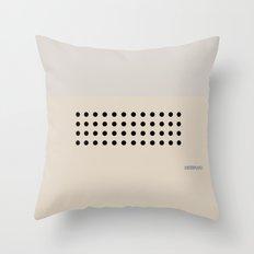 Modern Minimal Collection / Dieter Throw Pillow