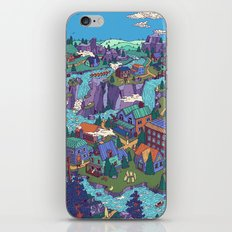 Try Not to Step on Anything This Time iPhone & iPod Skin