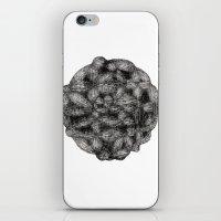 Drawing 6 White iPhone & iPod Skin