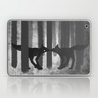 foxes in the forest Laptop & iPad Skin