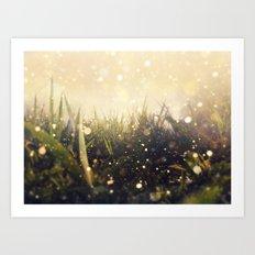 Hidden in the Magic Garden Art Print