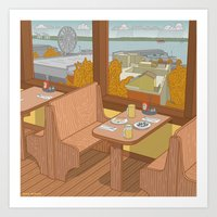 Athenian, Pike Place Mar… Art Print