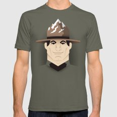 Mountie Mens Fitted Tee SMALL Lieutenant