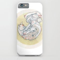 The lady and the cat. iPhone 6 Slim Case