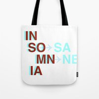 Insomnia / Insane Tote Bag