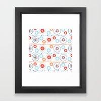 Kaleidoscope Stripes Framed Art Print