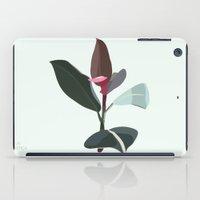 Ficus Elastica iPad Case