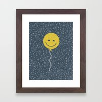 Spaced Out Framed Art Print