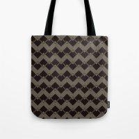 Taupe Geometric Art Deco… Tote Bag