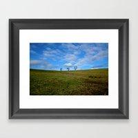 North Fields Framed Art Print