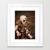 Fixed & what? Framed Art Print