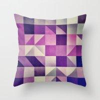 :: geometric maze VI :: Throw Pillow