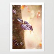 Enchanted Ivy Art Print