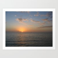 Mexican Sunset Art Print