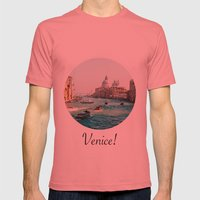 Venice! Mens Fitted Tee Pomegranate SMALL